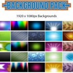 Background Graphics Pack Collection - 1920x1080 - Royalty Free Backgrounds Graphics Collection - 100 Graphics